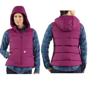 Carhartt For Women Down Filled Alpine Vest
